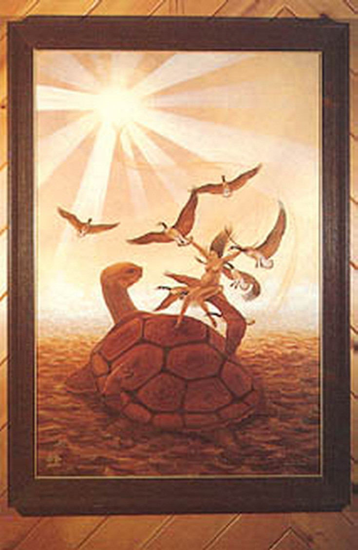 genesis vs iroquois creation myth Two examples of different accounts of creation are the christian account in genesis, and the iroquois account in the world on the turtle's back they have differences such as how the world was created, attitudes of humankind, and the authority of man over animals in the beginning.