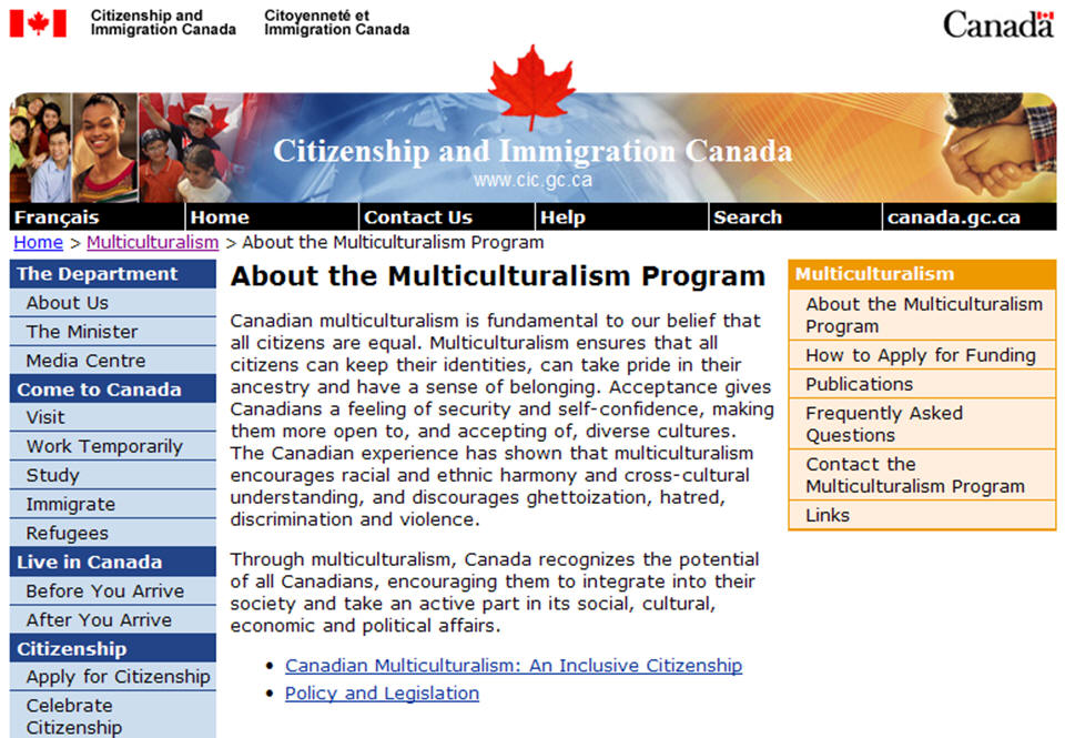 immigration in canada and the need for multicultural education